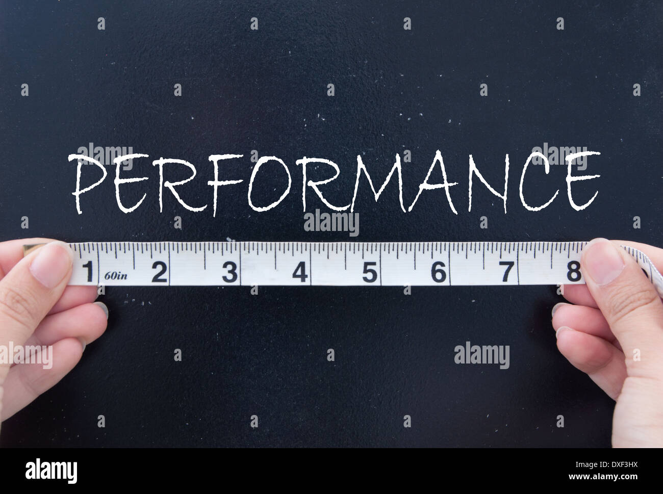 Measuring performance - Stock Image