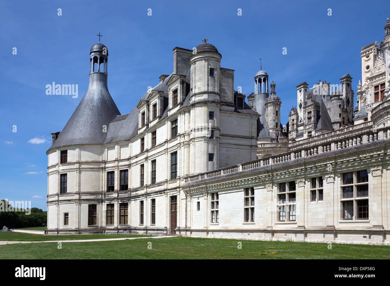 Chateau de Chambord - Loire Valley - France - Stock Image