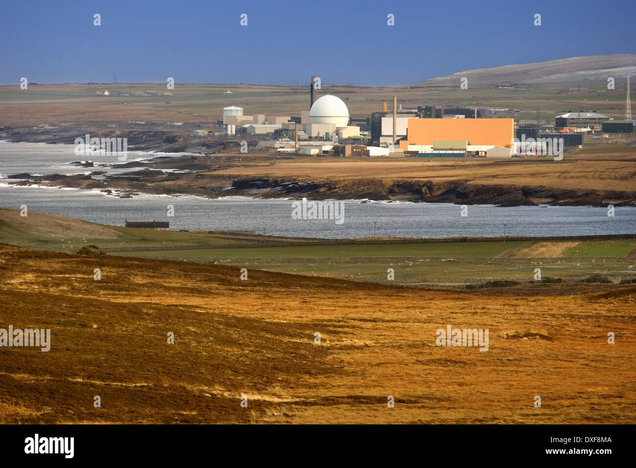 Dounreay Nuclear Power Plant - Scotland - Stock Image