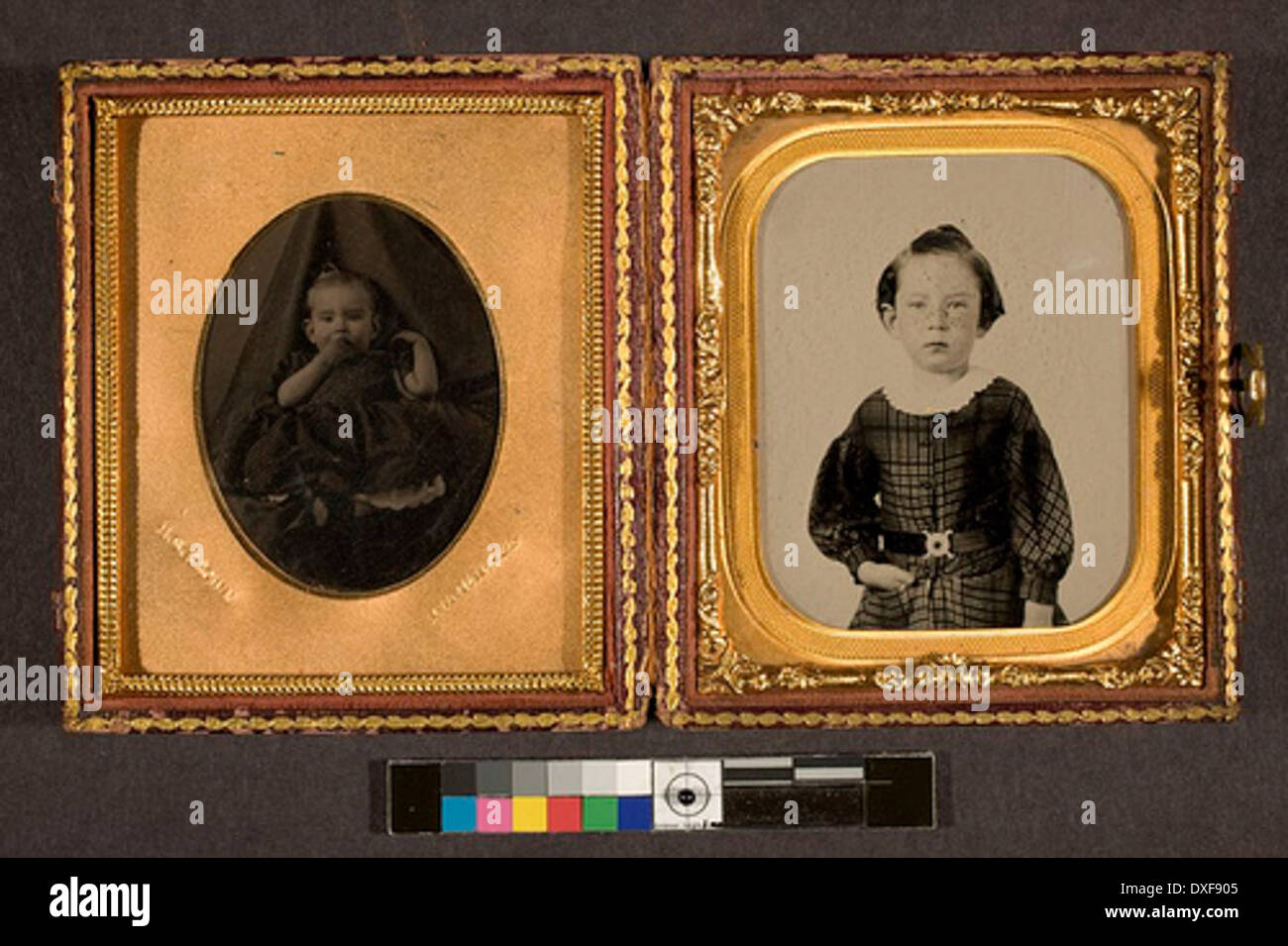 Charles Reubin Phillips as a boy Charles Reubin Phillips as a boy - Stock Image