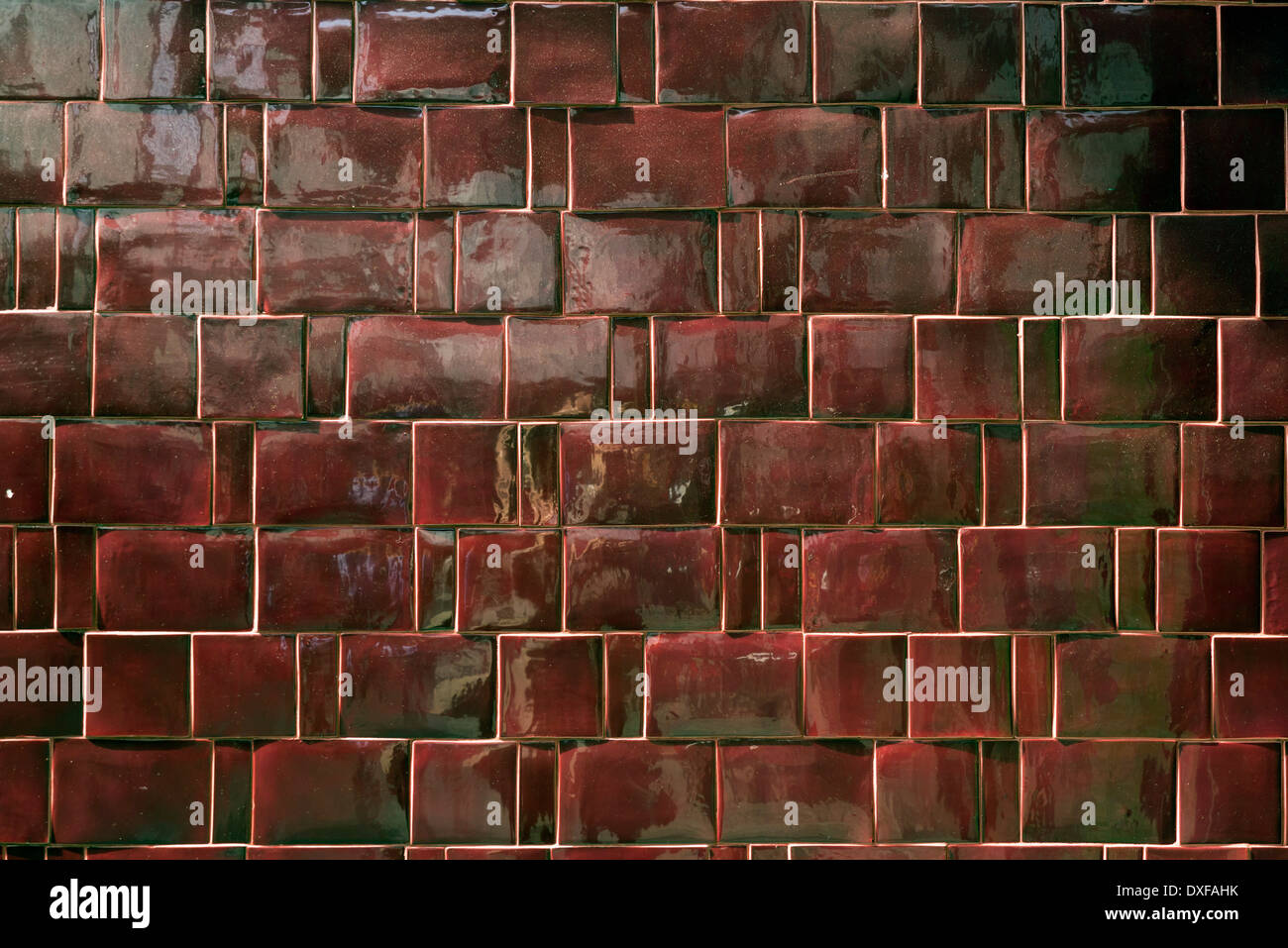 Background Of Bright Red Ceramic Tile Stock Photo 67949775 Alamy