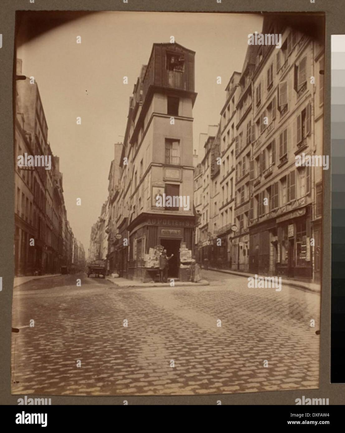 Maison dÕAndre Chenier en 1793 - 97 rue de Clery (2e arr) Maison d'Andre Chenier en 1793 - 97 rue de Clery (2e arr) - Stock Image