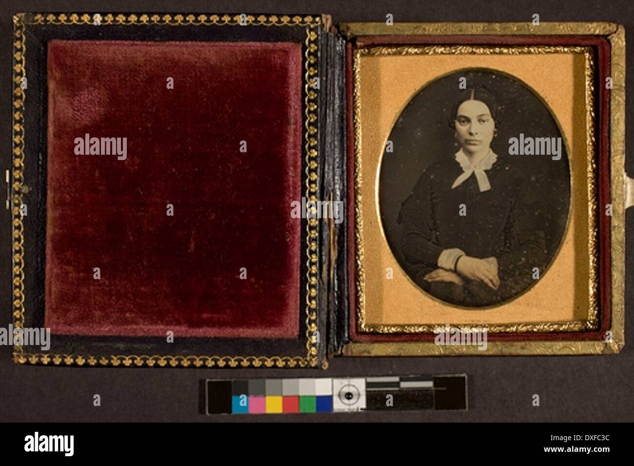 Portrait of an unidentified woman Portrait of an unidentified woman - Stock Image