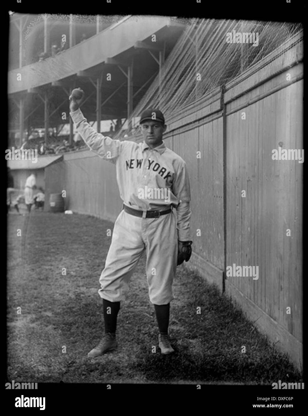 Portrait of Joe McGinnity, baseball player - Stock Image