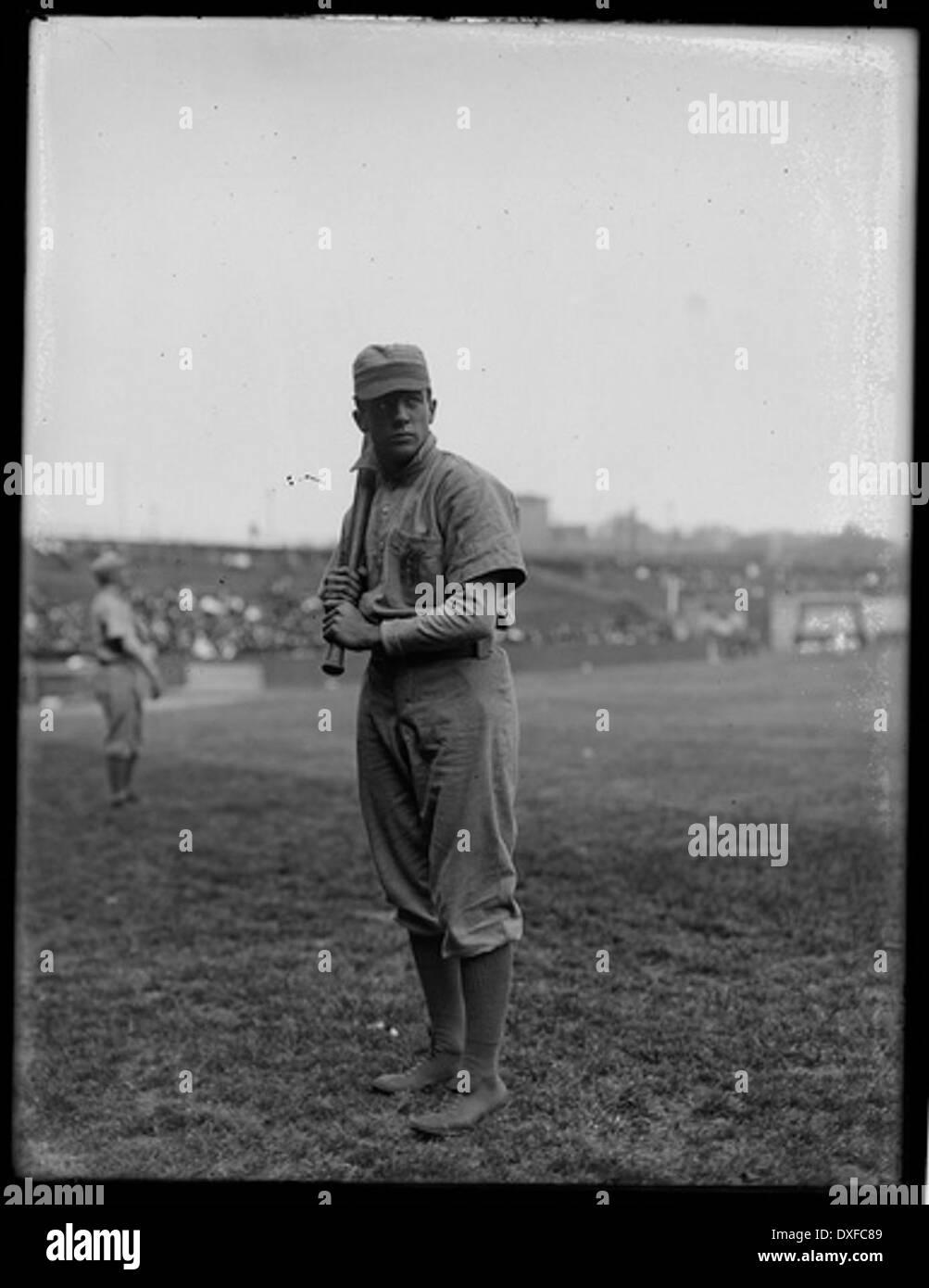 Portrait of Joe Tinker, baseball player - Stock Image