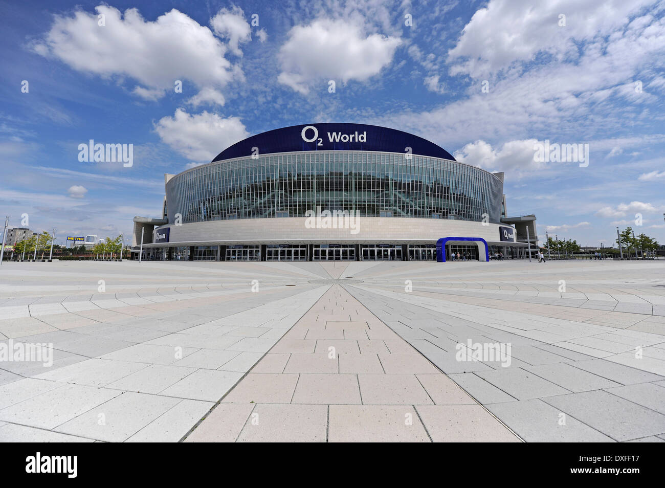 O2 World, Multi-purpose hall for up to 17000 spectators, Berlin, Germany - Stock Image