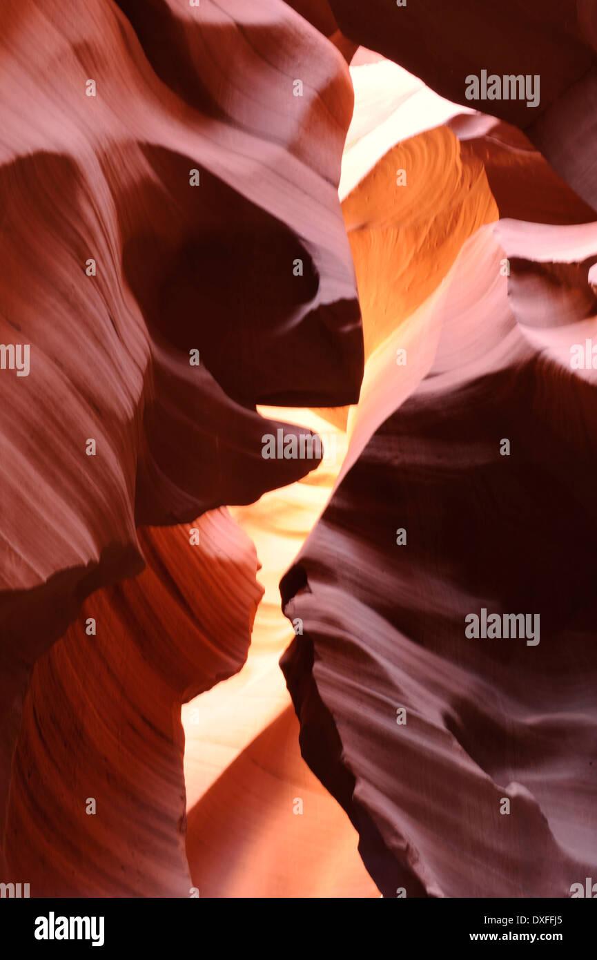 Antelope Slot Canyon, Arizona, USA Stock Photo