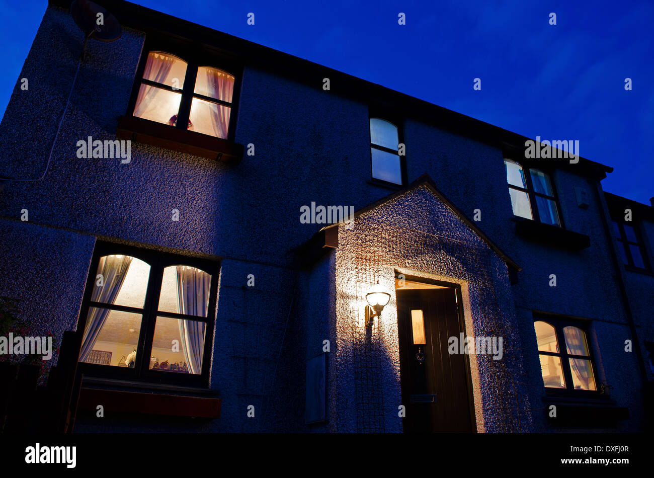 wasting electricity - Stock Image