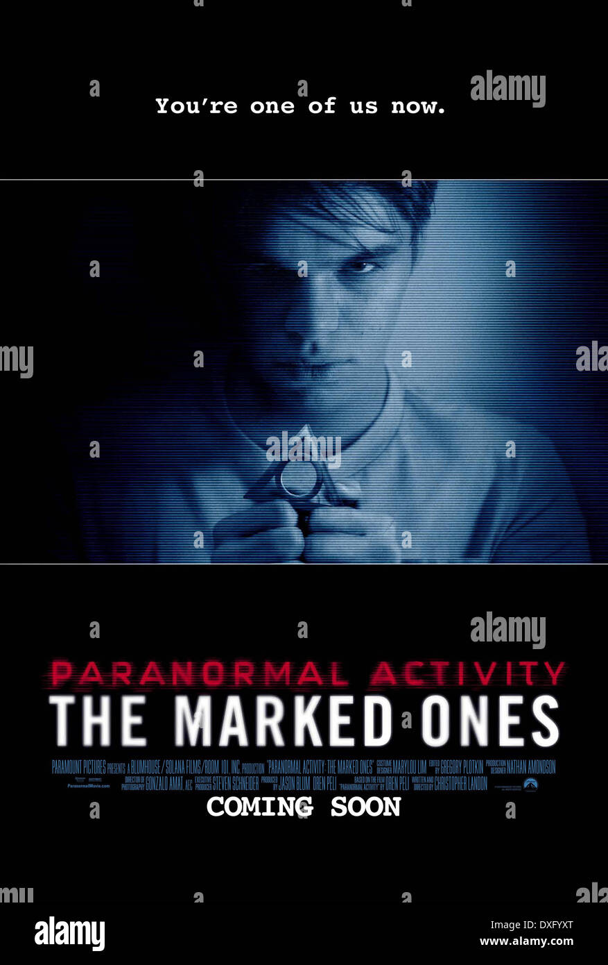 Paranormal Activity: The Marked Ones - Stock Image