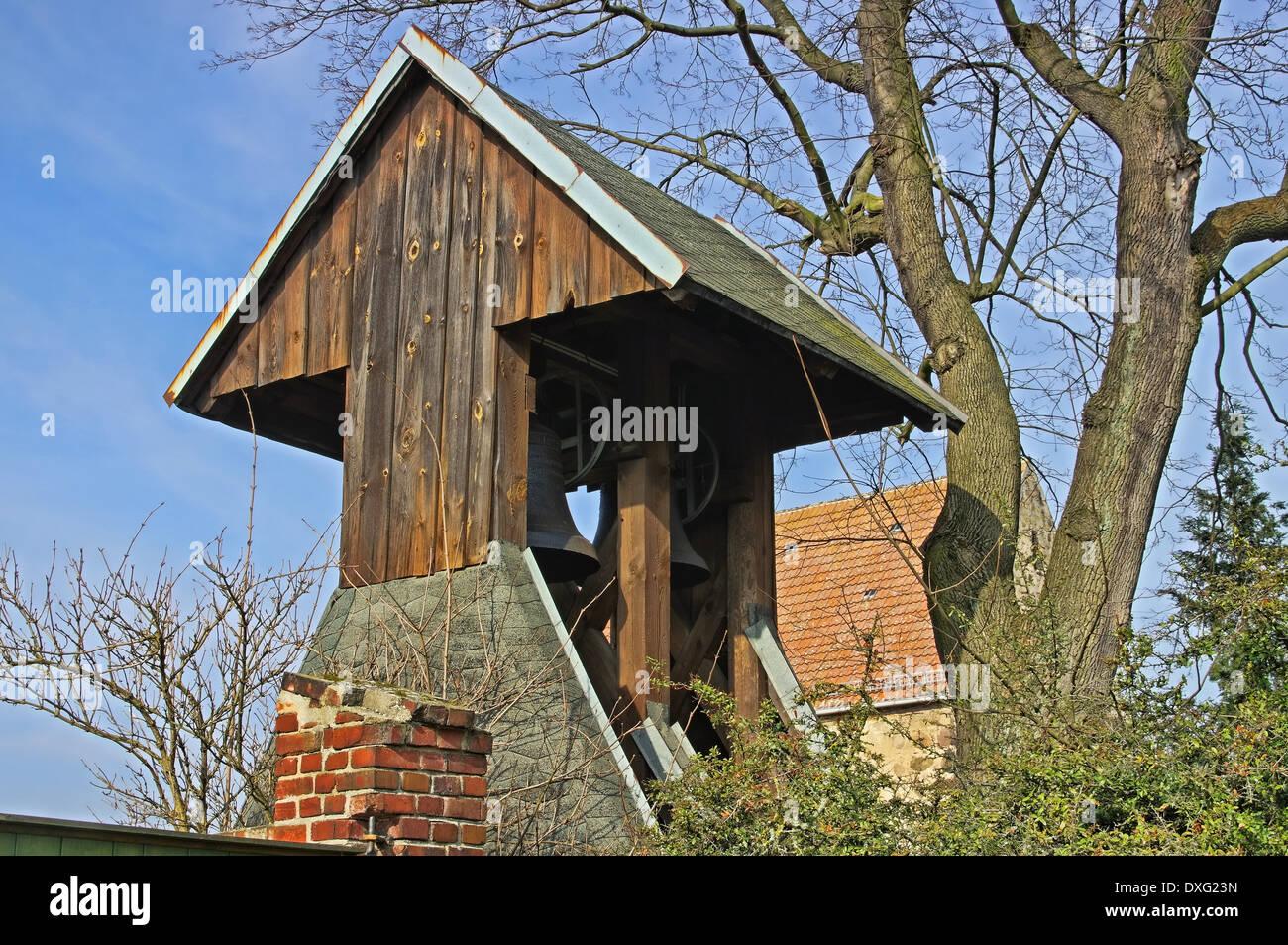 Waltersdorf Kirche - Waltersdorf church 01 - Stock Image