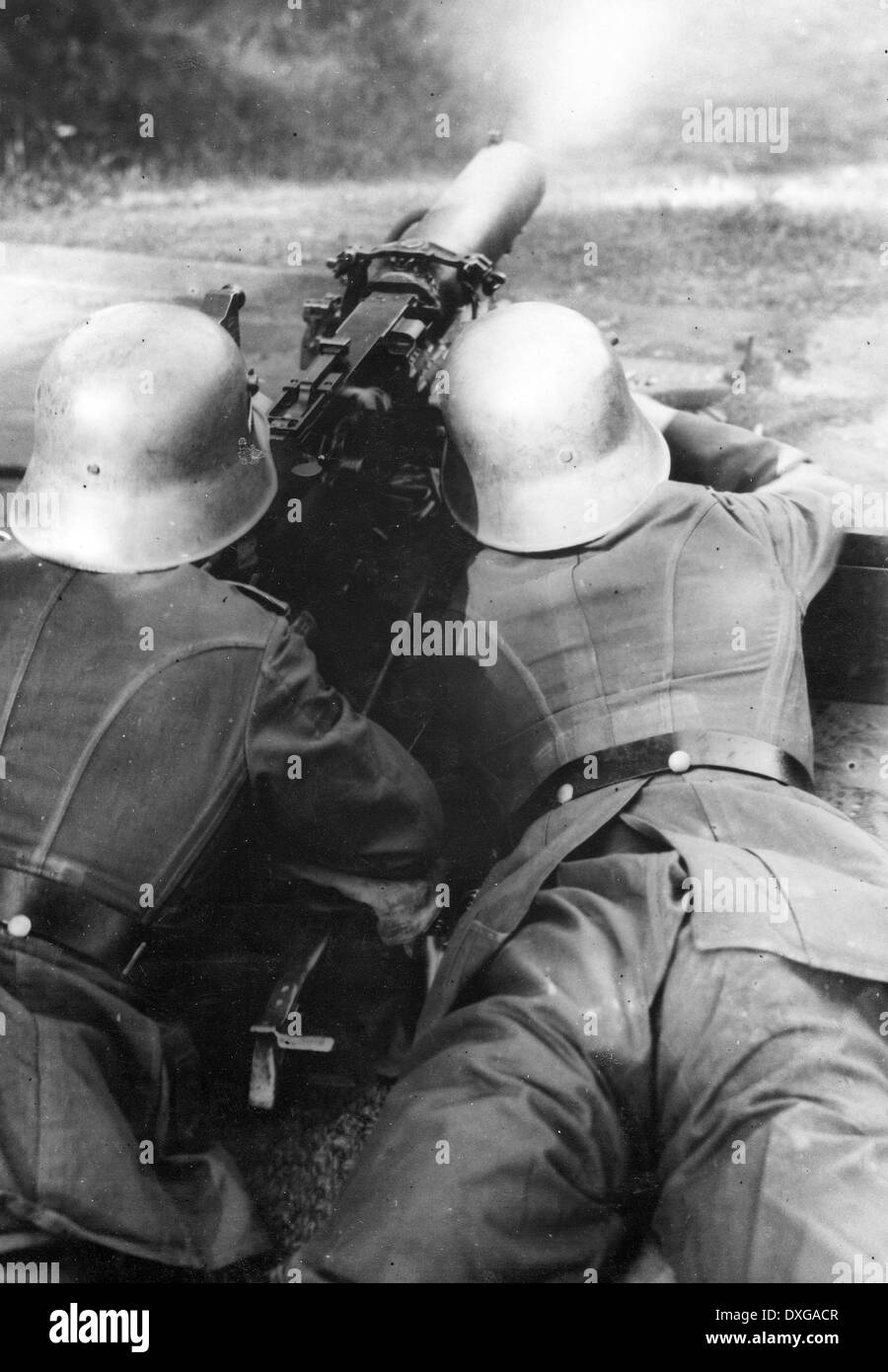 German soldiers WW2 - Stock Image