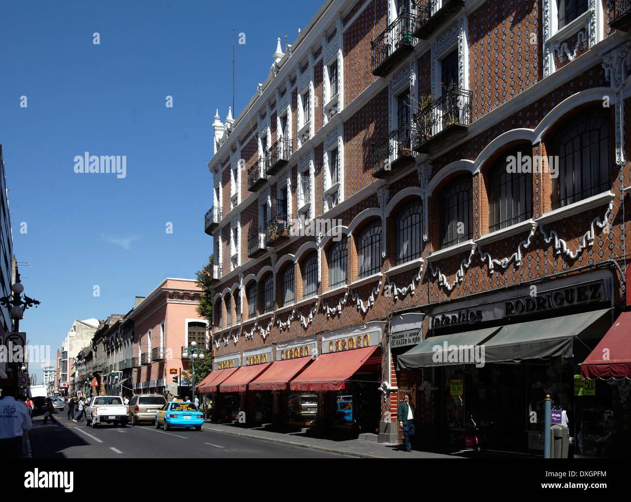 America, Mexico, Puebla state, Puebla city, Historical center, - Stock Image