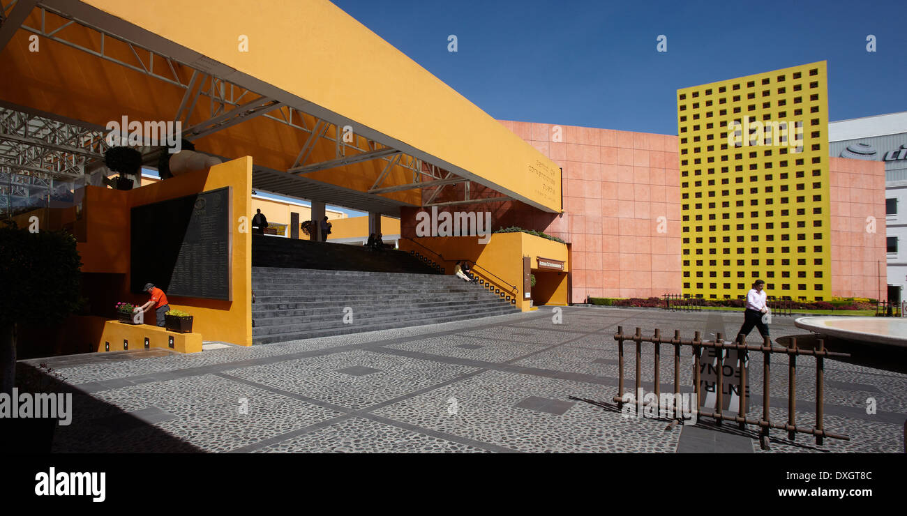 América, Mexico, Puebla state, Puebla city, congress center - Stock Image