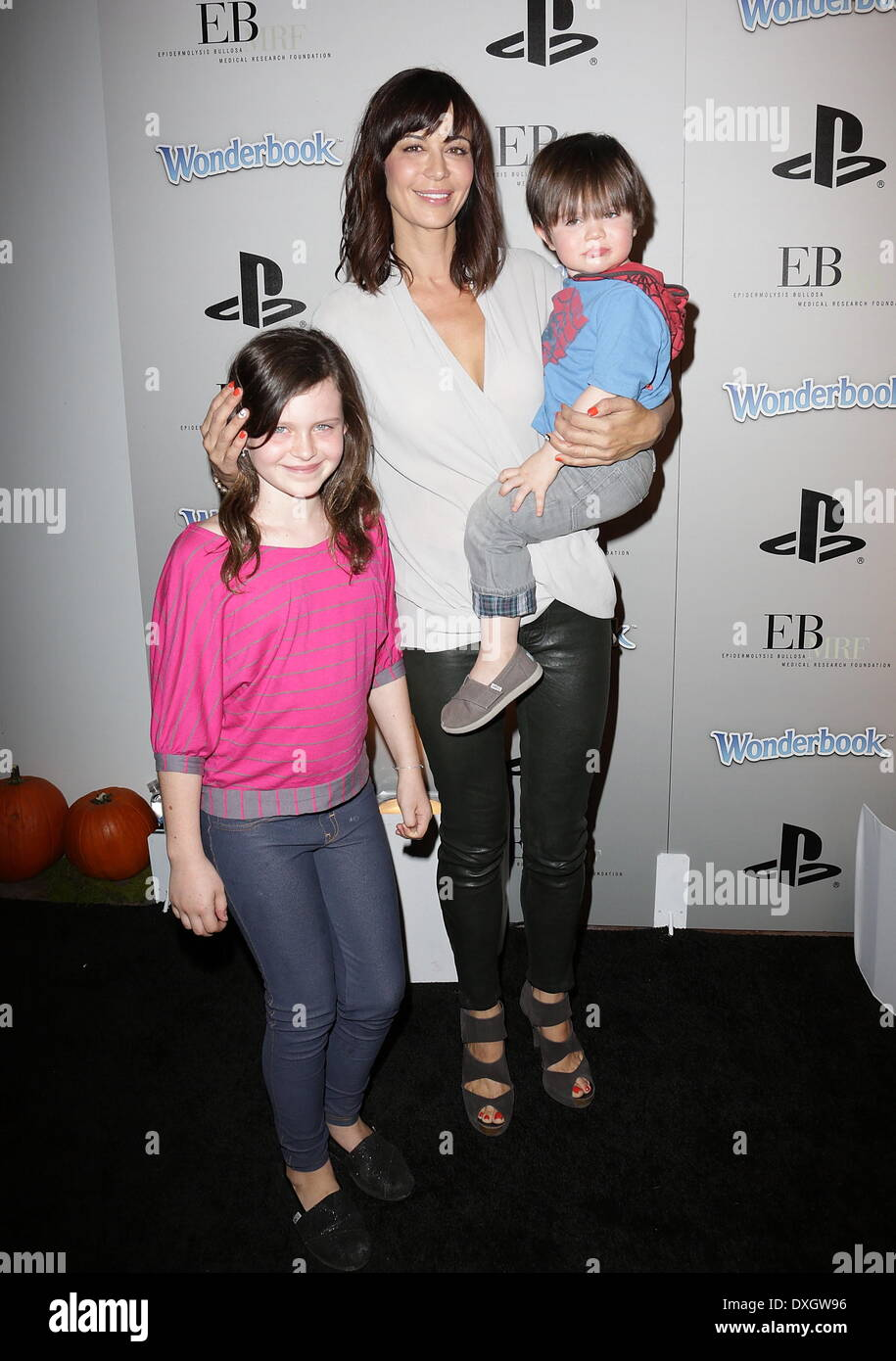 Catherine Bell And Gemma Beason Stock Photos & Catherine