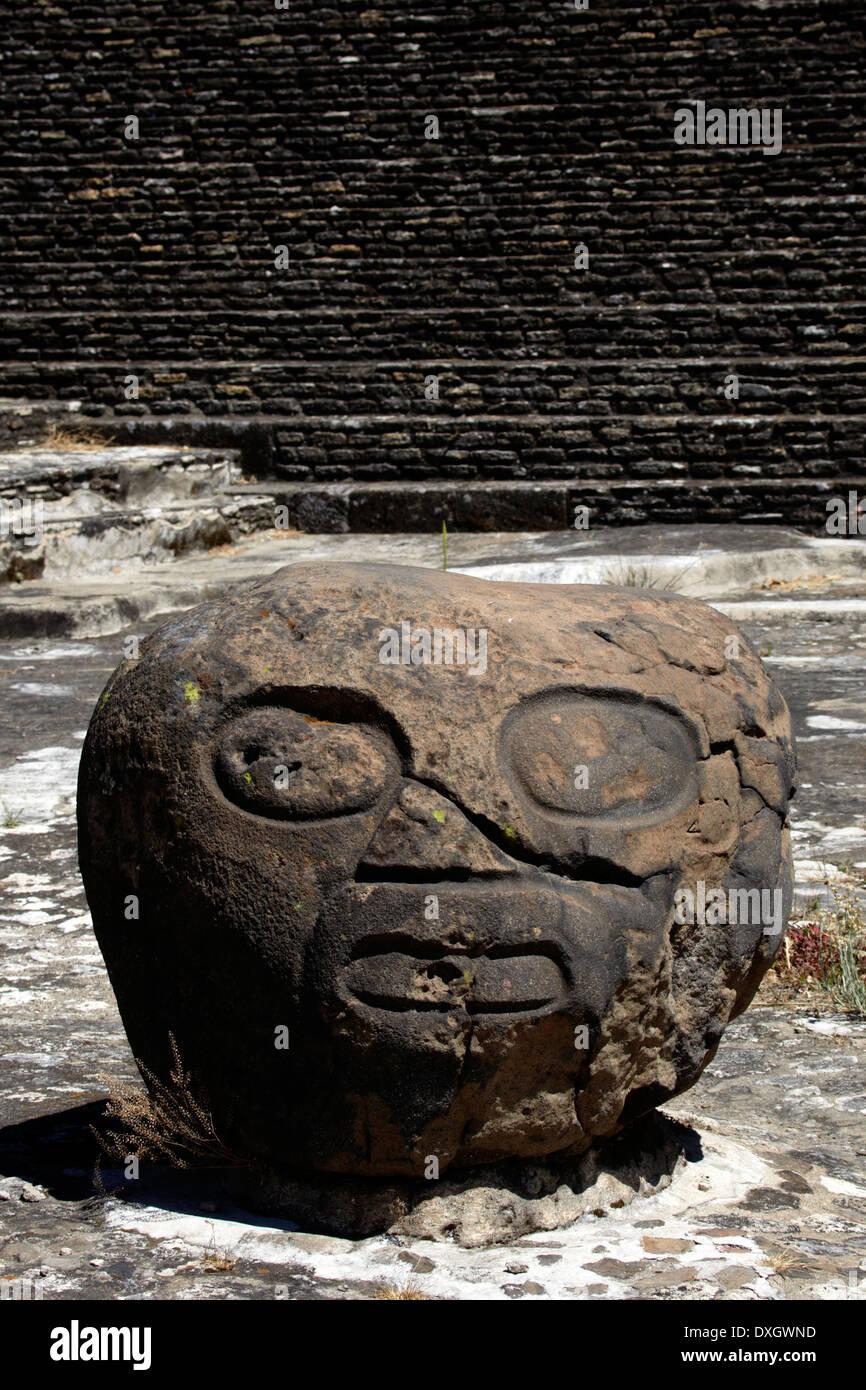 América, Mexico, Puebla state, Cholula village, the arqueological site - Stock Image