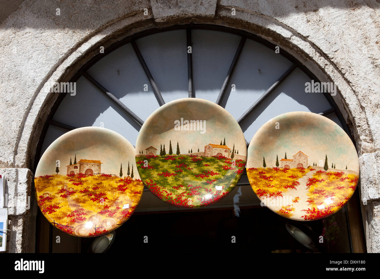 Ceramic Souvenirs Tuscany Italy High Resolution Stock Photography And Images Alamy