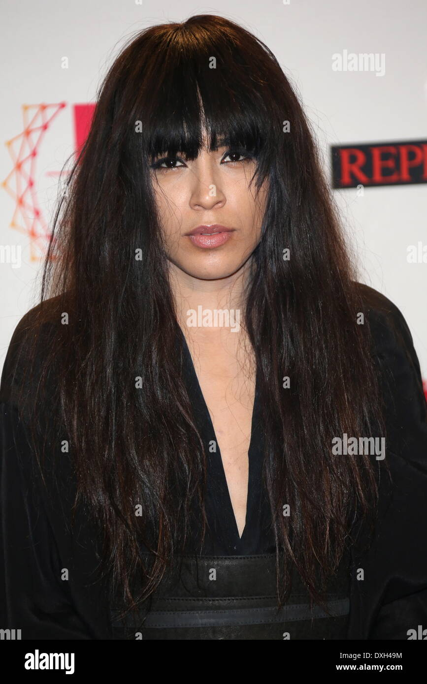 Loreen The MTV EMA's 2012 held at Festhalle - press room Featuring: Loreen Where: Frankfurt, Germany When: 11 Nov Stock Photo