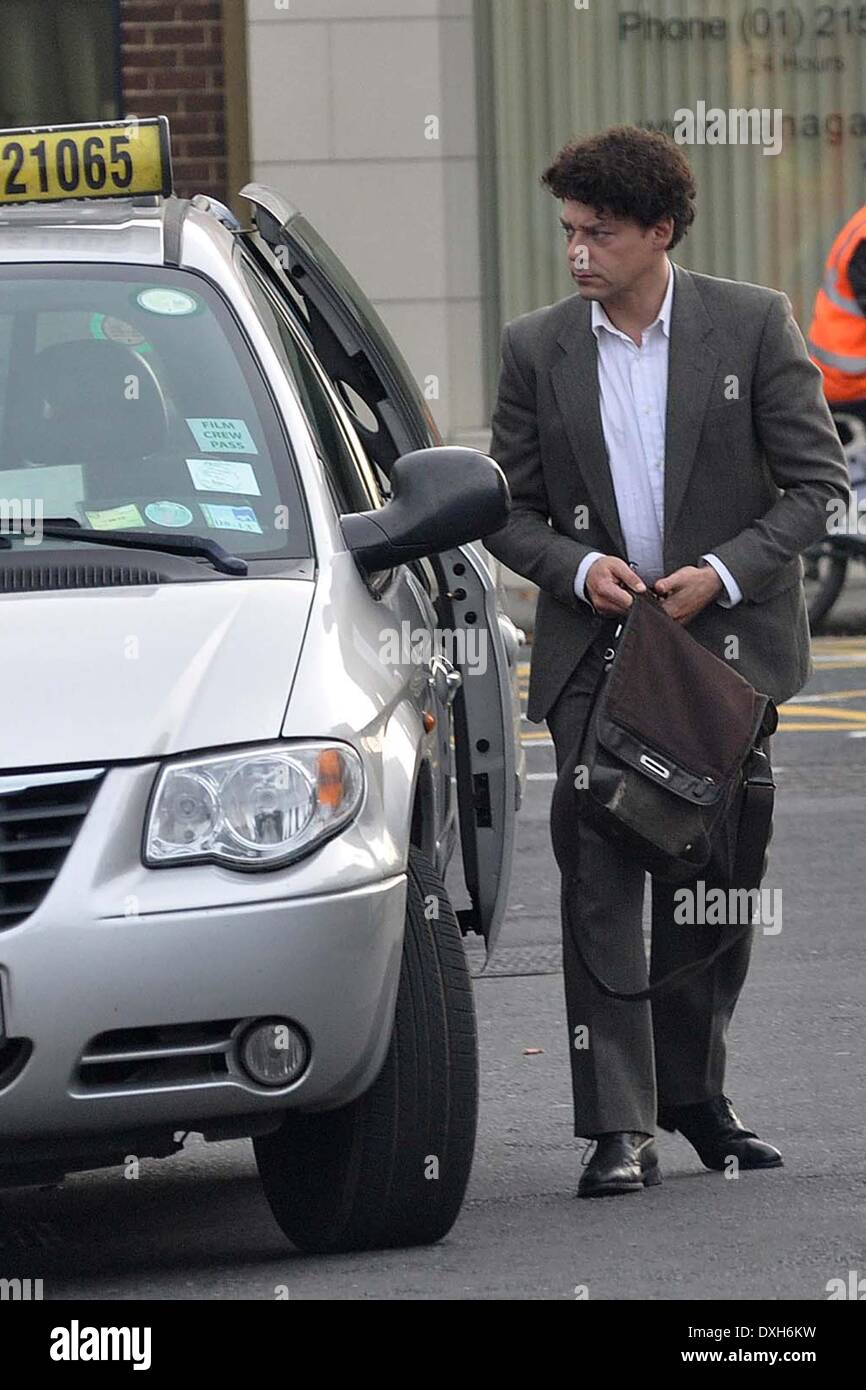 Richard Coyle Filming for new ITV crime drama 'Life of Crime