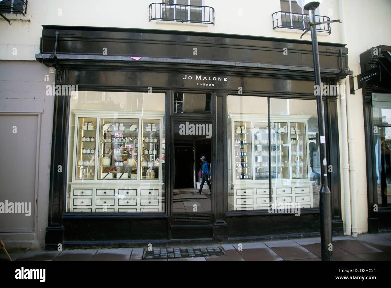 Jo Malone perfume beauty products body posh - Stock Image