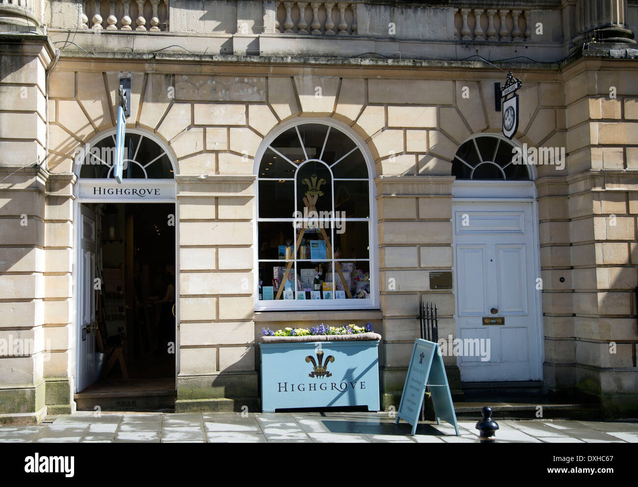 Highgrove store shop Prince Charles posh outlet - Stock Image