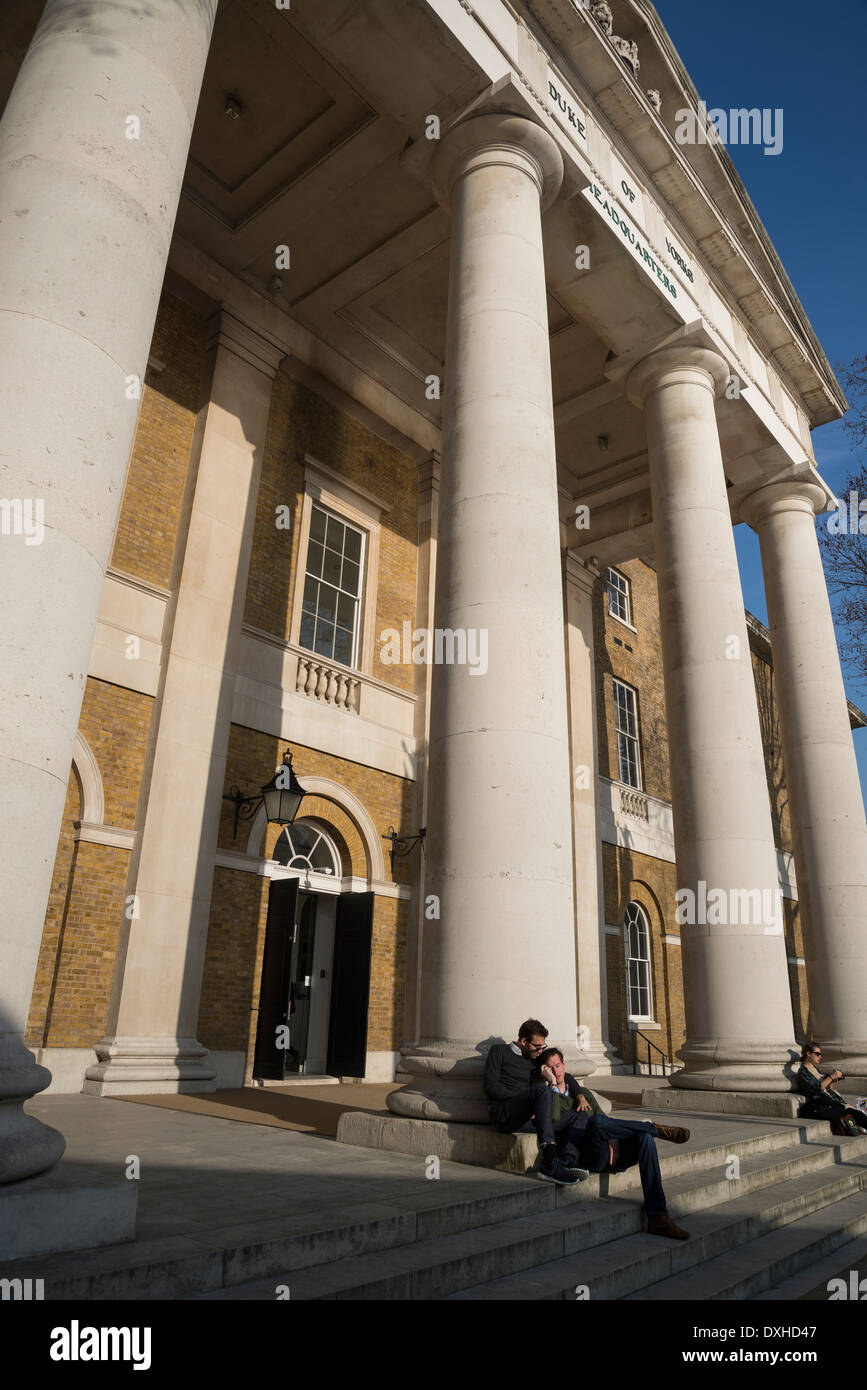 Saatchi Gallery, Duke of York's HQ, King's Rd, London, UK - Stock Image