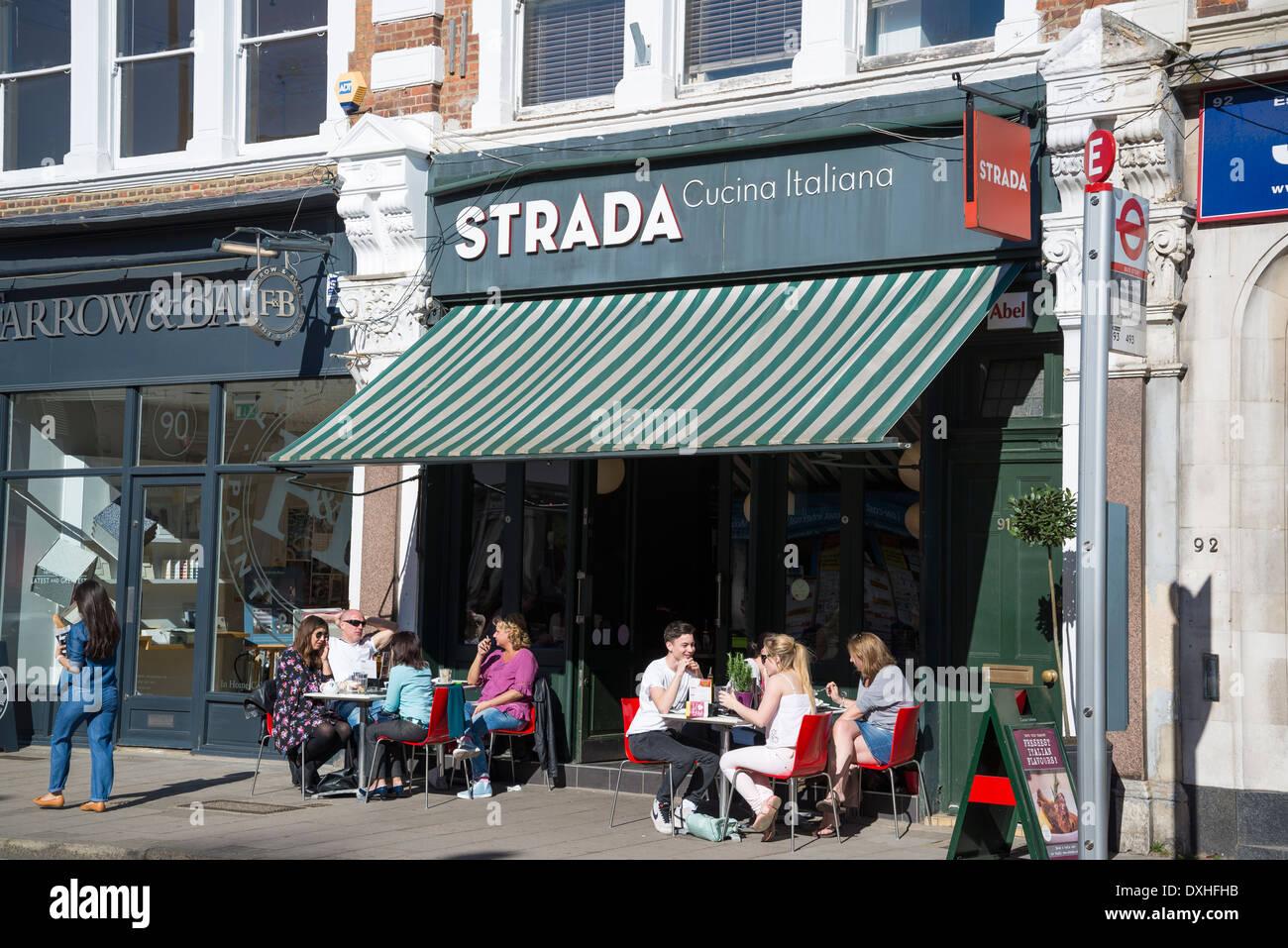 Outside Restaurant London Uk Stock Photos & Outside Restaurant ...