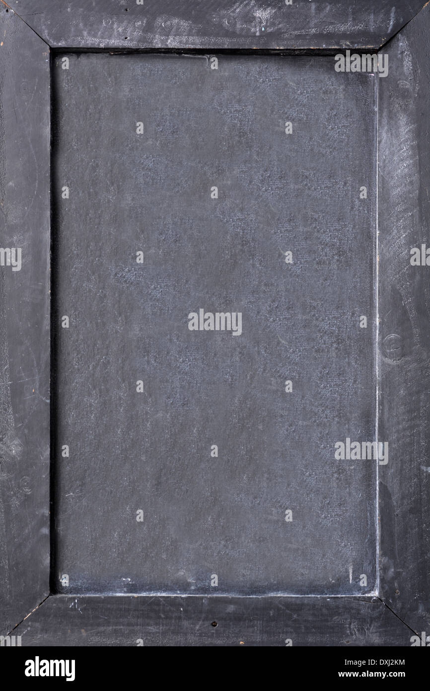 blank chalkboard with black wooden frame empty space for insertion stock photo 68009416 alamy