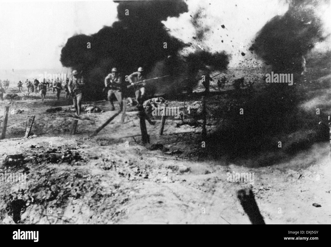 ALL QUIET ON THE WESTERN FRONT - Stock Image