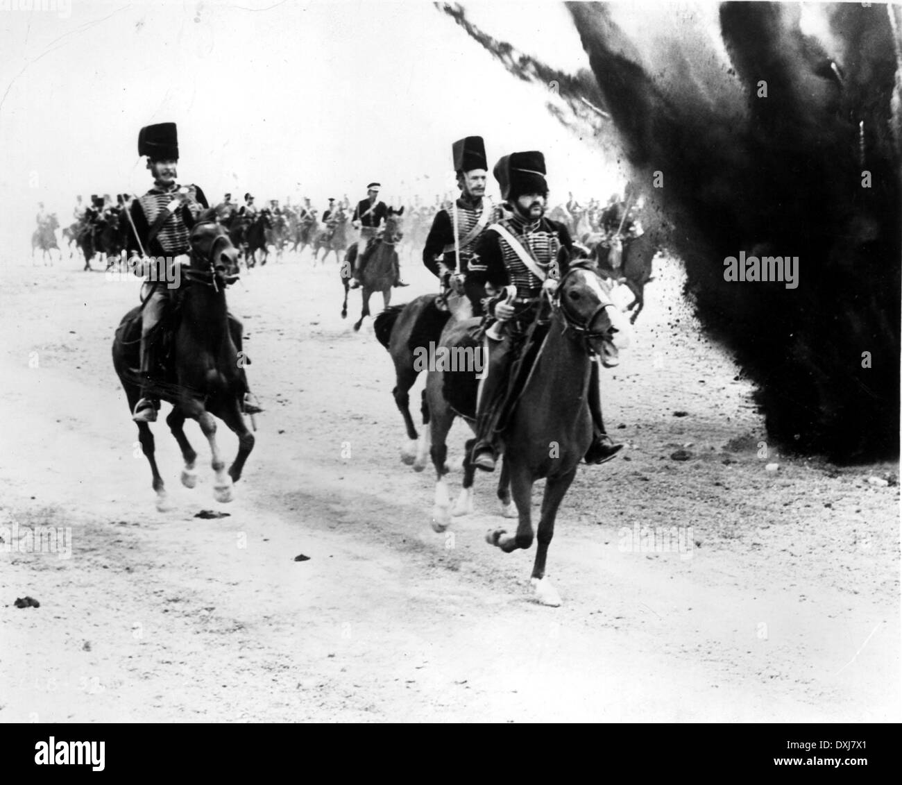 THE CHARGE OF THE LIGHT BRIGADE - Stock Image