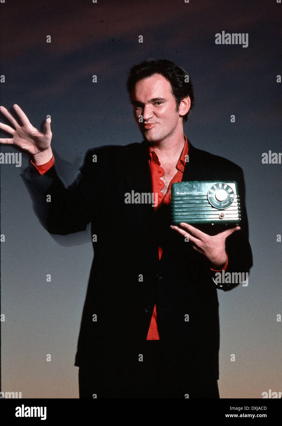 DESTINY TURNS ON THE RADIO (US1995) QUENTIN TARANTINO AS JOH - Stock Image