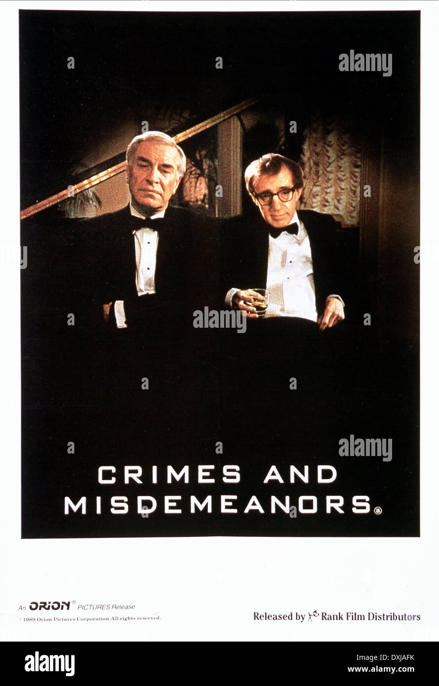 CRIMES AND MISDEMEANORS Stock ...