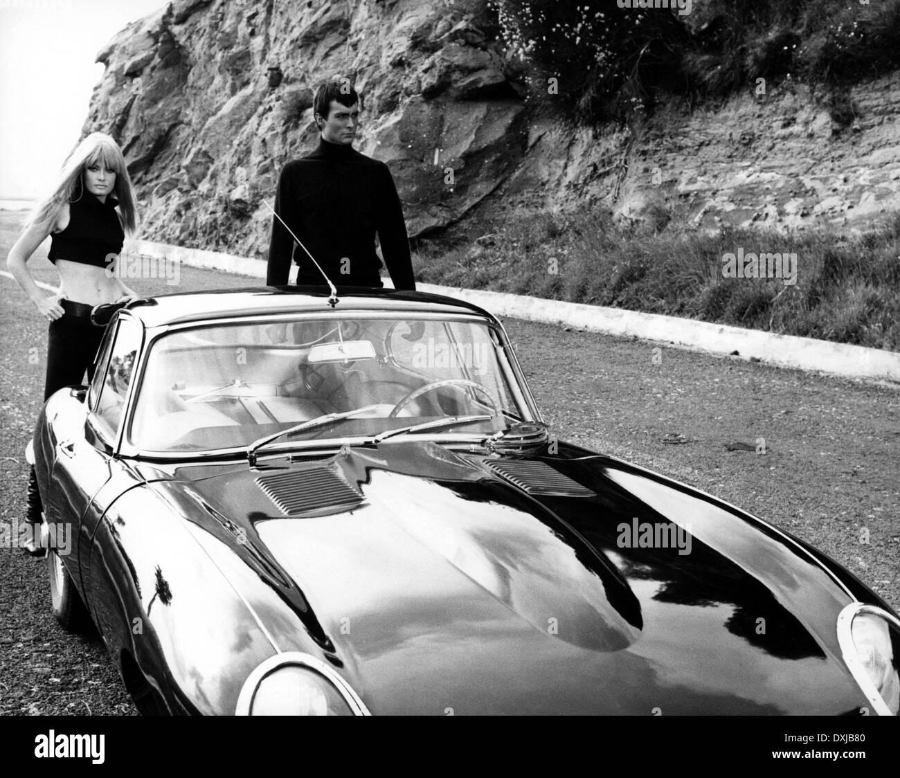 DANGER DIABOLIK (IT/FR 1968) MELISSA MELL, JOHN PHILLIP LAW - Stock Image