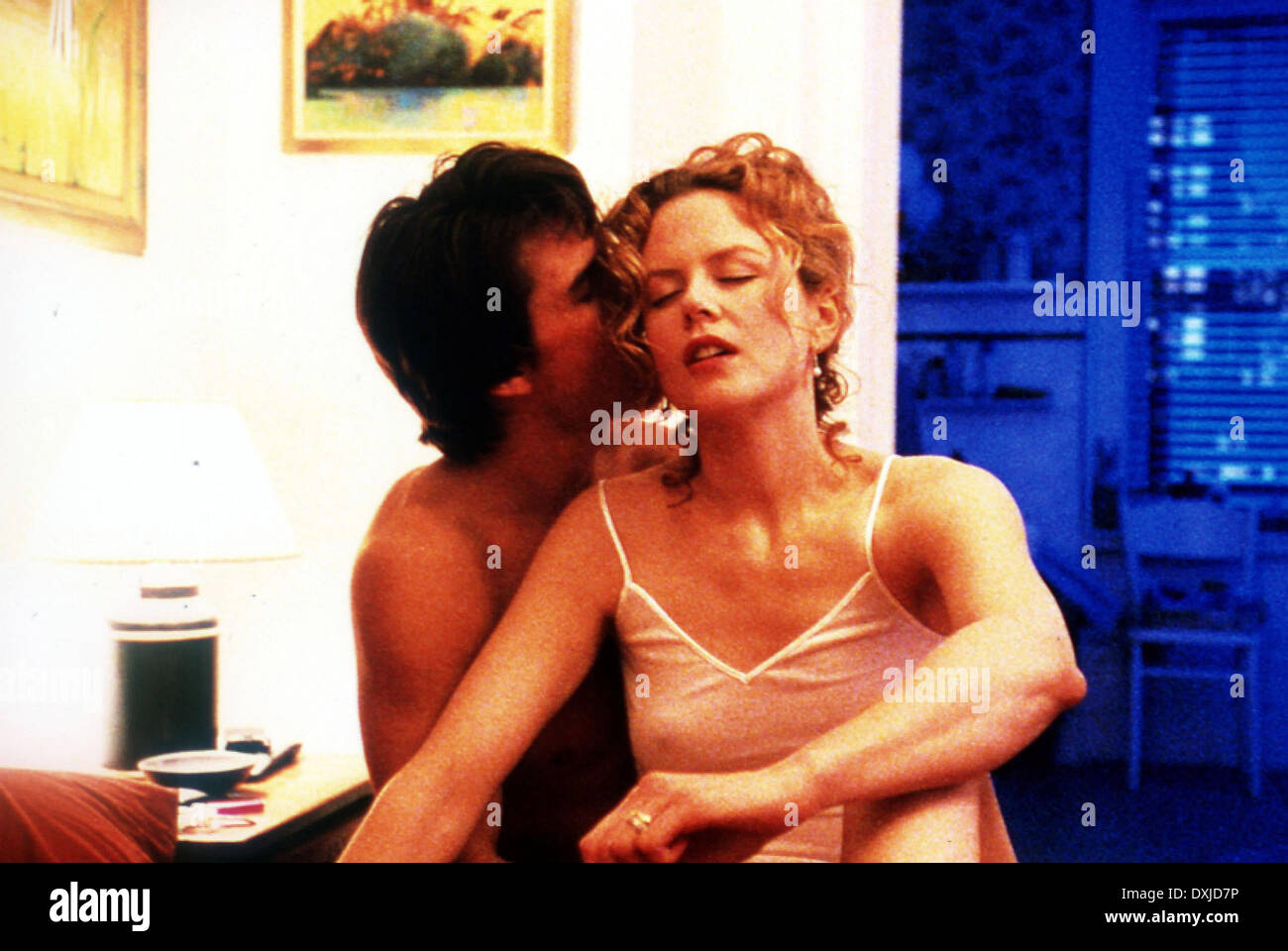 EYES WIDE SHUT - Stock Image