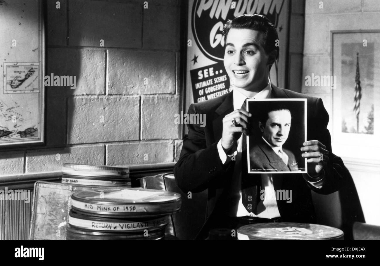 ED WOOD - Stock Image