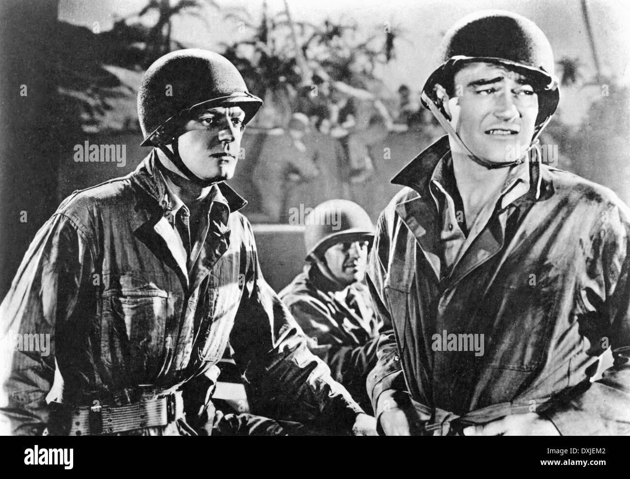 THE FIGHTING SEABEES (US1944) DENNIS O'KEEFE, JOHN WAYNE - Stock Image