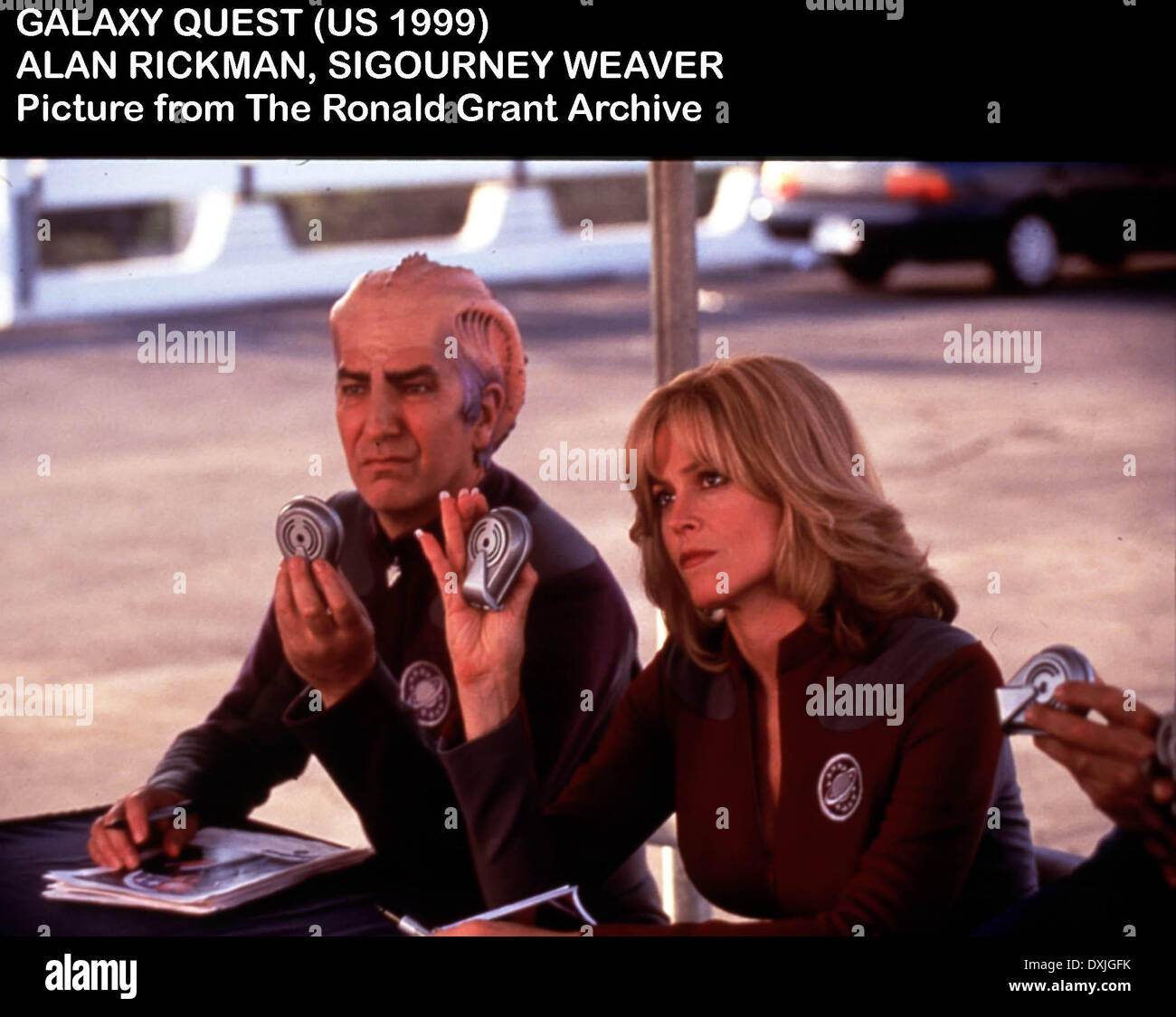 GALAXY QUEST - Stock Image