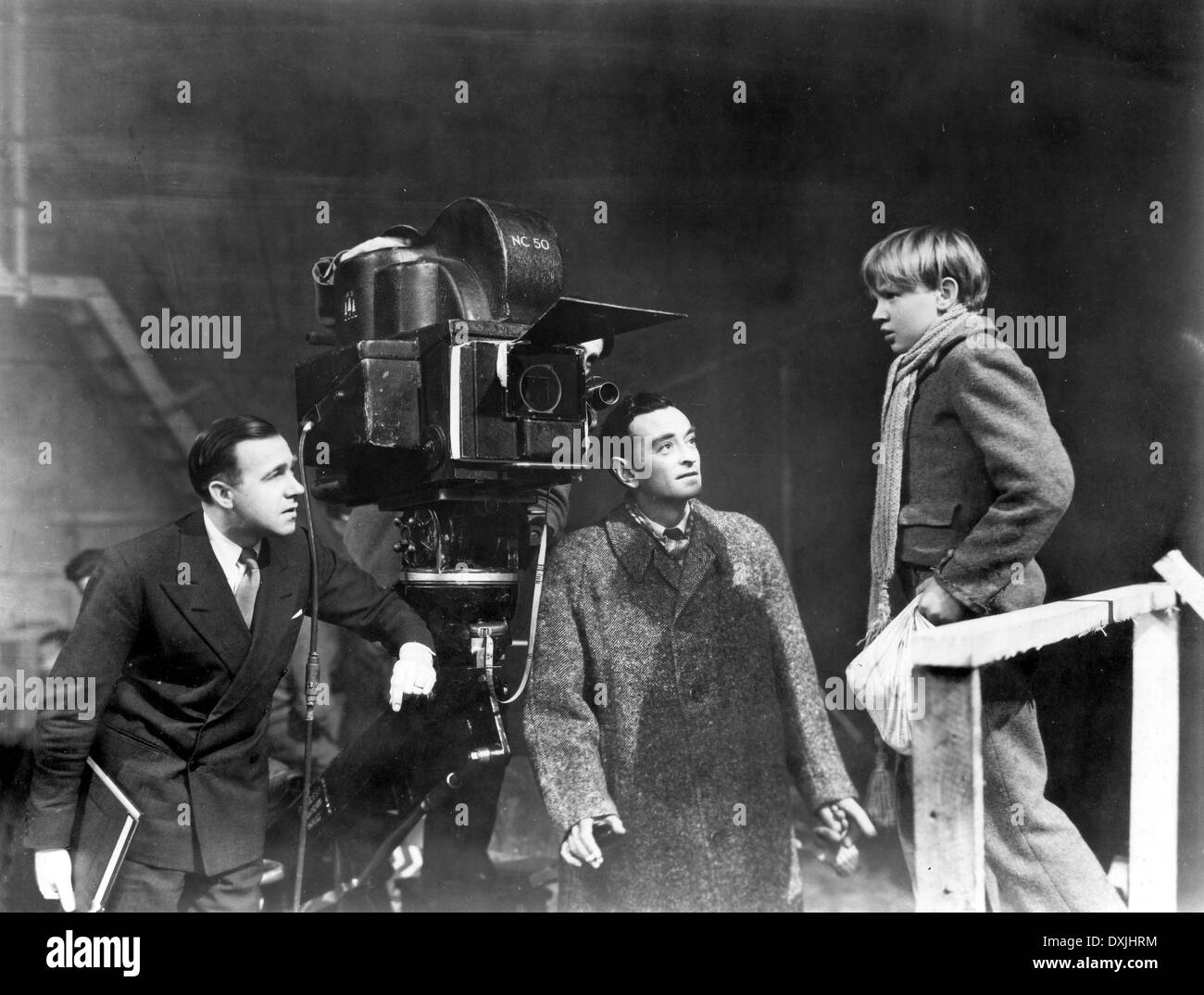 DAVID LEAN on the set of GREAT EXPECTATIONS - Stock Image