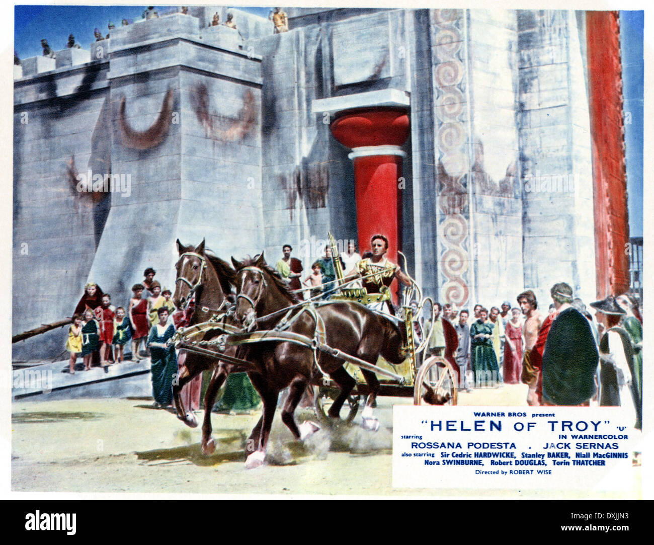 HELEN OF TROY (US/IT 1956) - Stock Image