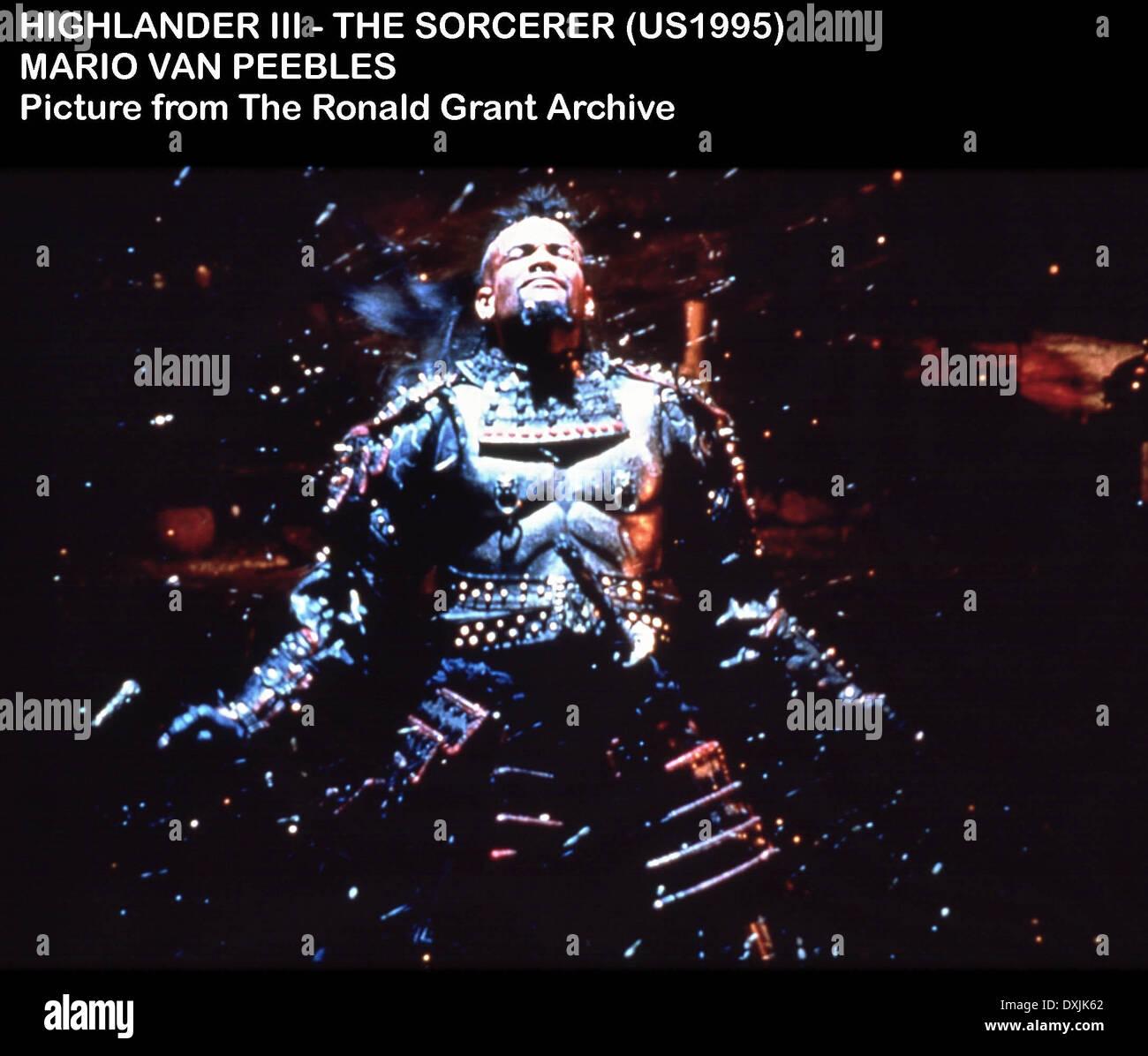 HIGHLANDER III THE SORCERER - Stock Image