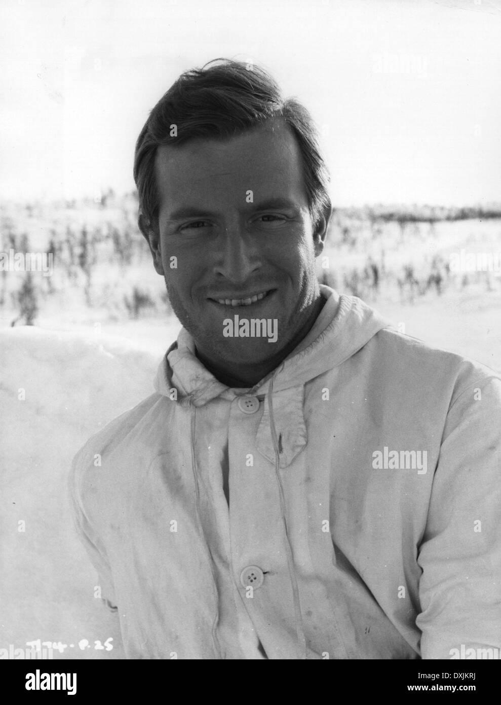 THE HEROES OF TELEMARK (BR1965) ALAN HOWARD AS OLI - Stock Image