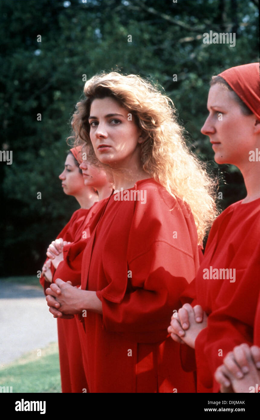 THE HANDMAID'S TALE (US/GER 1990) NATASHA RICHARDSON - Stock Image