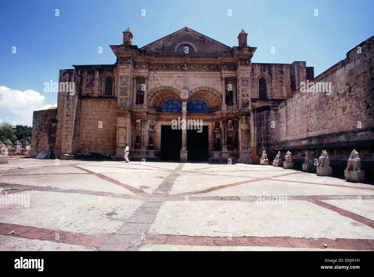 Santo Domingo Dominican Republic Cathedral Primada Santo Domingo - Stock Image