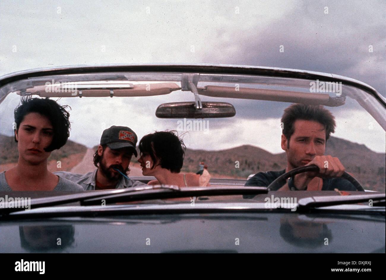 KALIFORNIA (US1993) MICHELLE FORBES, BRAD PITT, JULIETTE LEW - Stock Image