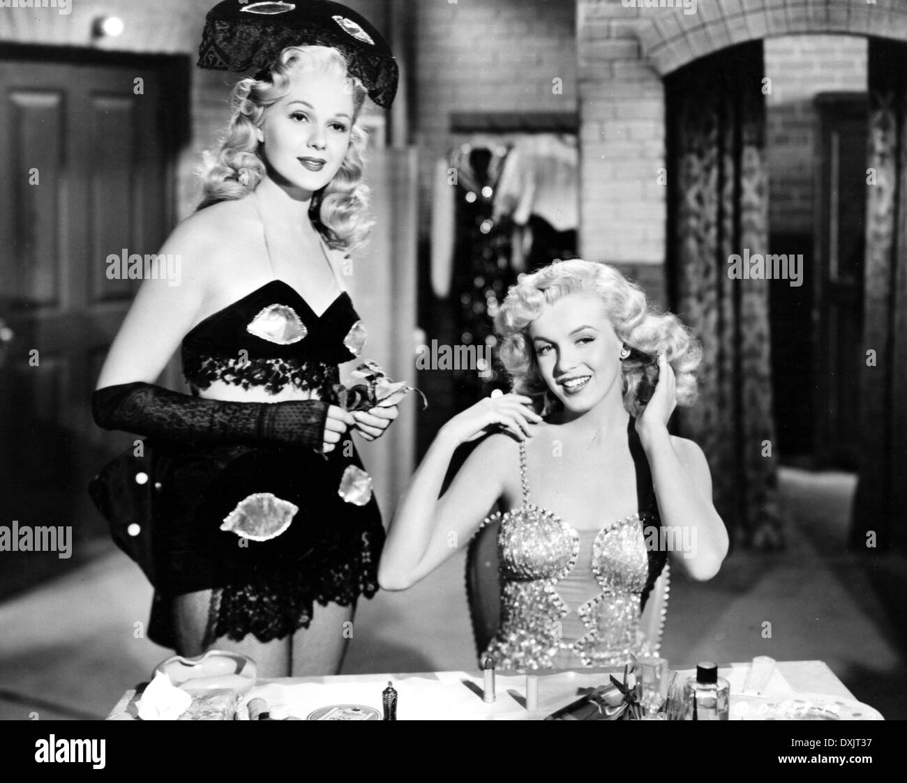 LADIES OF THE CHORUS (US1948) ADELE JERGENS, MARILYN MONROE - Stock Image