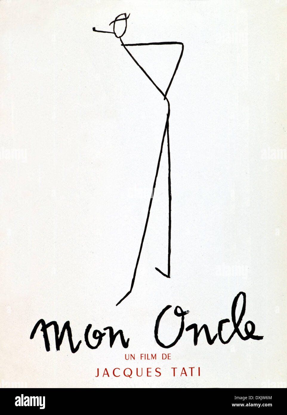 MON ONCLE (FR/IT 1958) - Stock Image