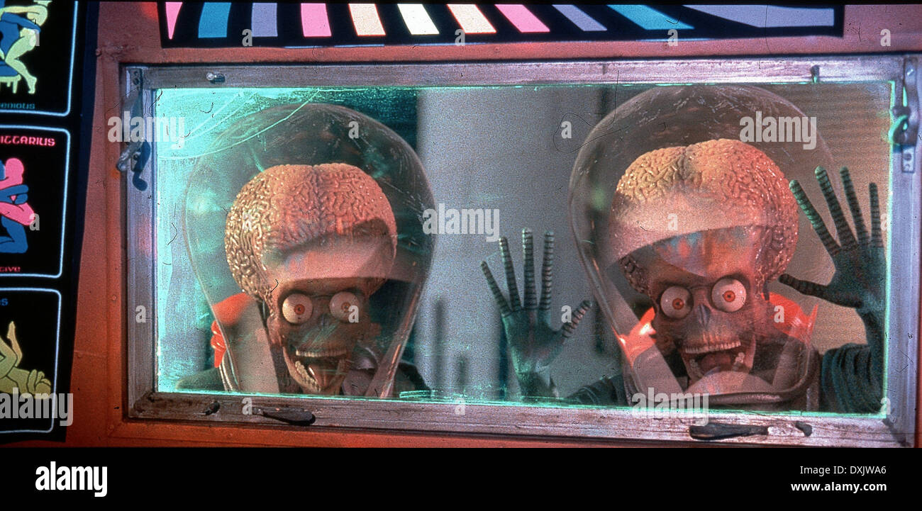 MARS ATTACKS - Stock Image