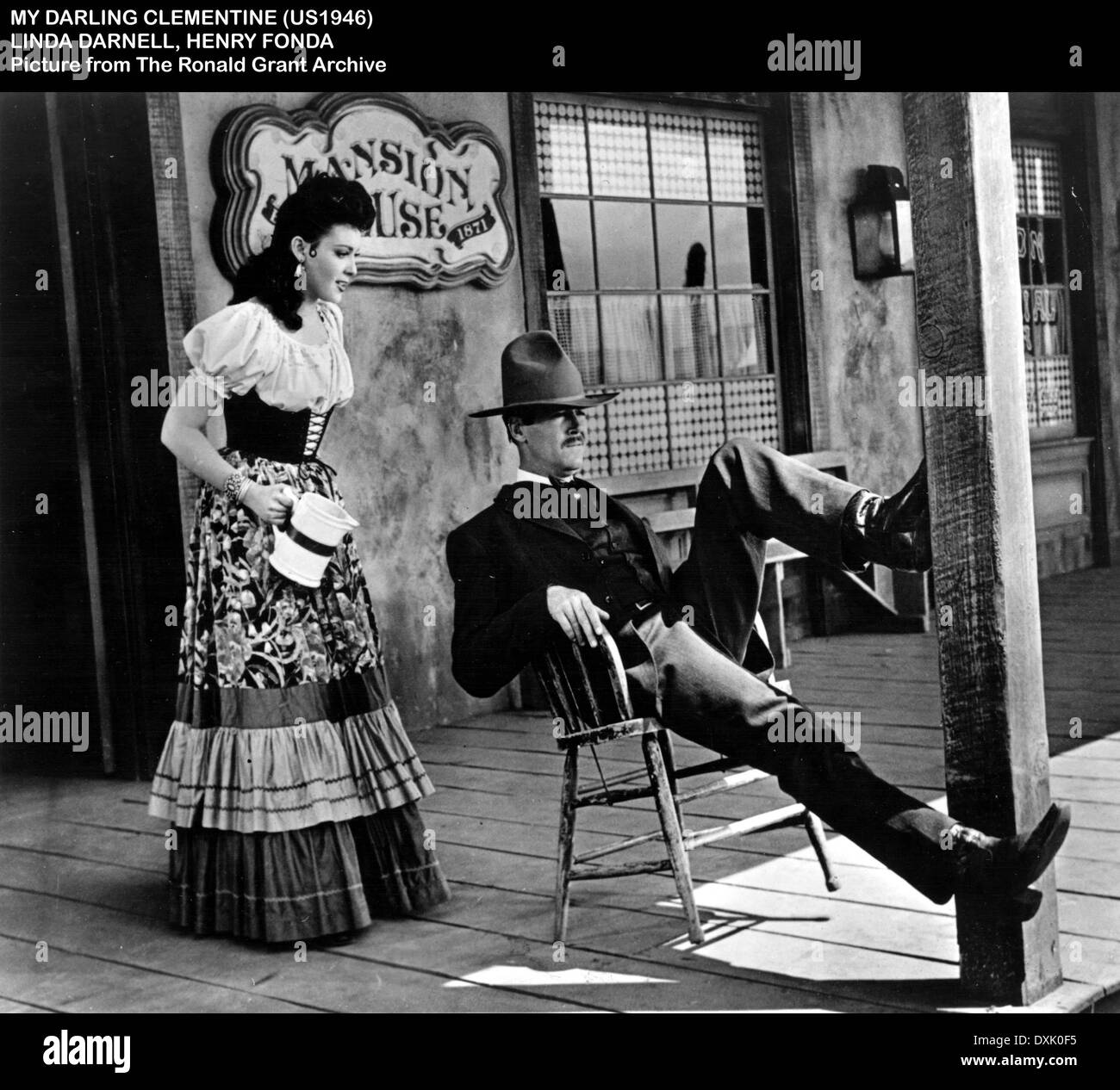 MY DARLING CLEMENTINE - Stock Image