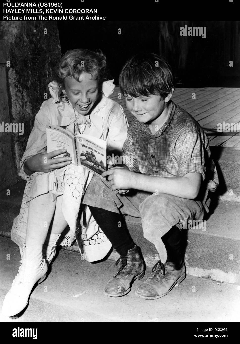 POLLYANNA (BR1960) HAYLEY MILLS, KEVIN CORCORAN  READING: BO - Stock Image