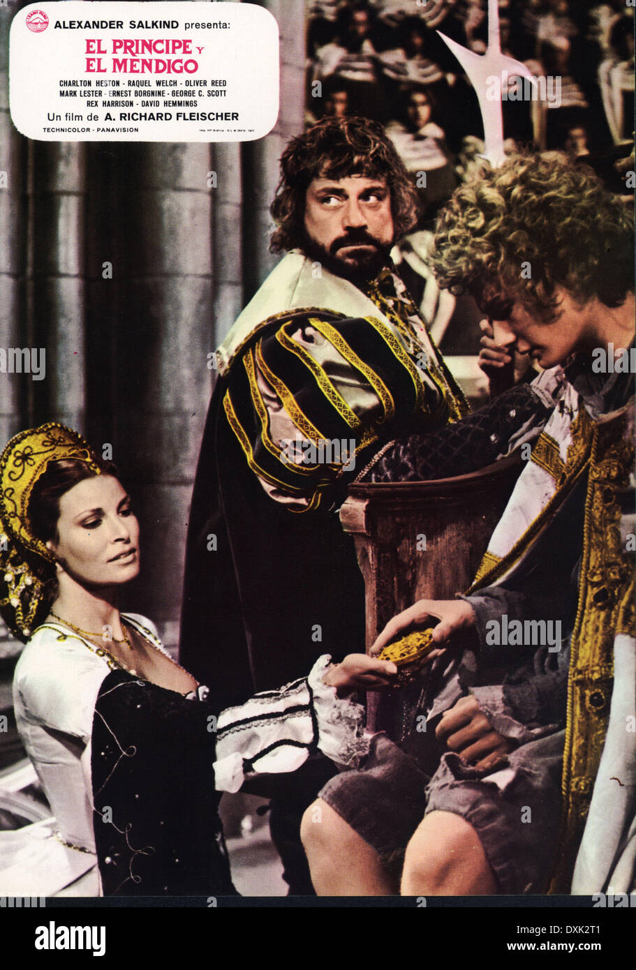 THE PRINCE AND THE PAUPER AKA CROSSED SWORDS - Stock Image