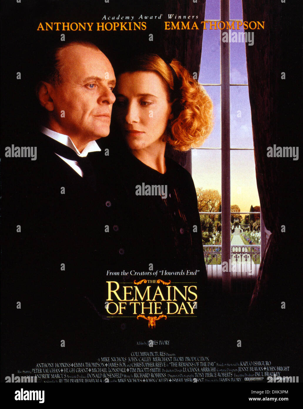THE REMAINS OF THE DAY (UK/US 1993) COLUMBIA PICTURES - Stock Image